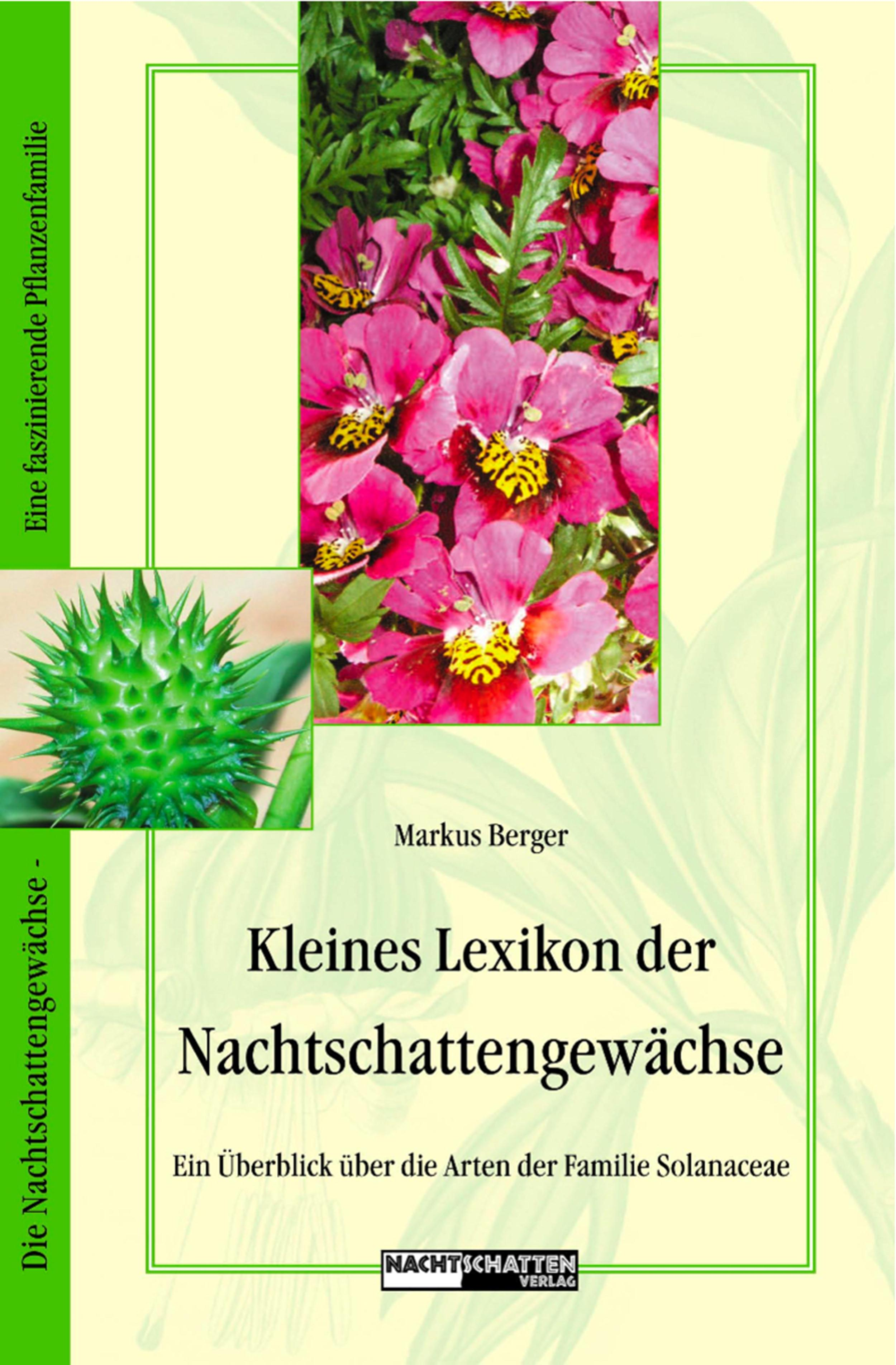 цены Markus Berger Kleines Lexikon der Nachtschattengewächse