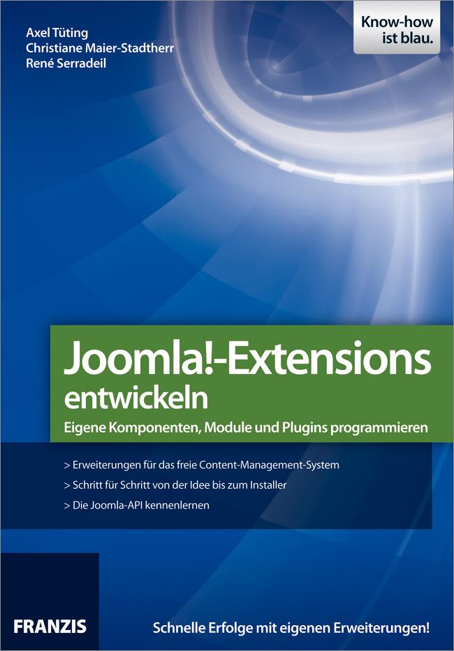 Axel Tuting Joomla!-Extensions entwickeln