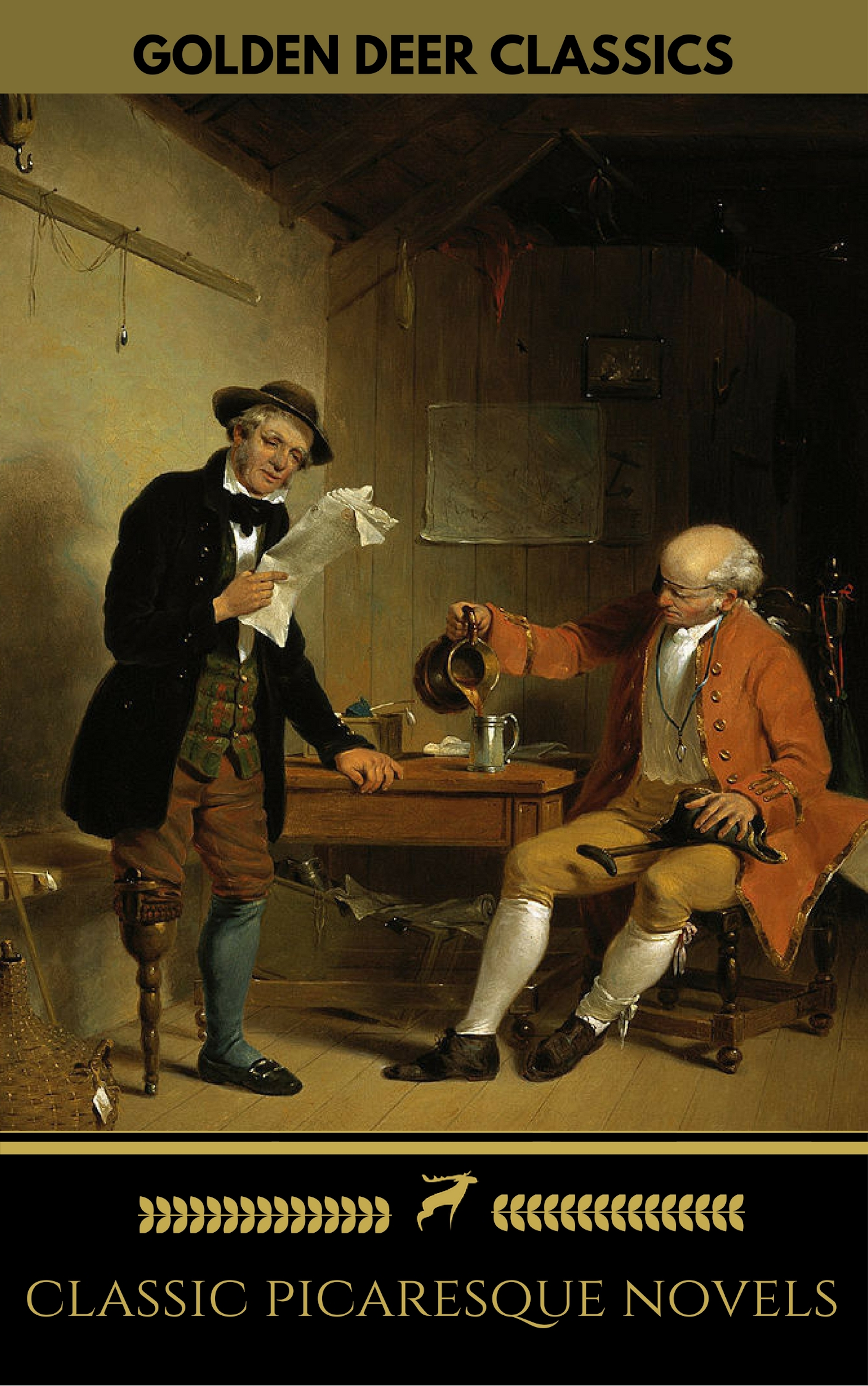 Tobias George Smollett Classic Picaresque Novels (Golden Deer Classics) tobias smollett travels through france and italy