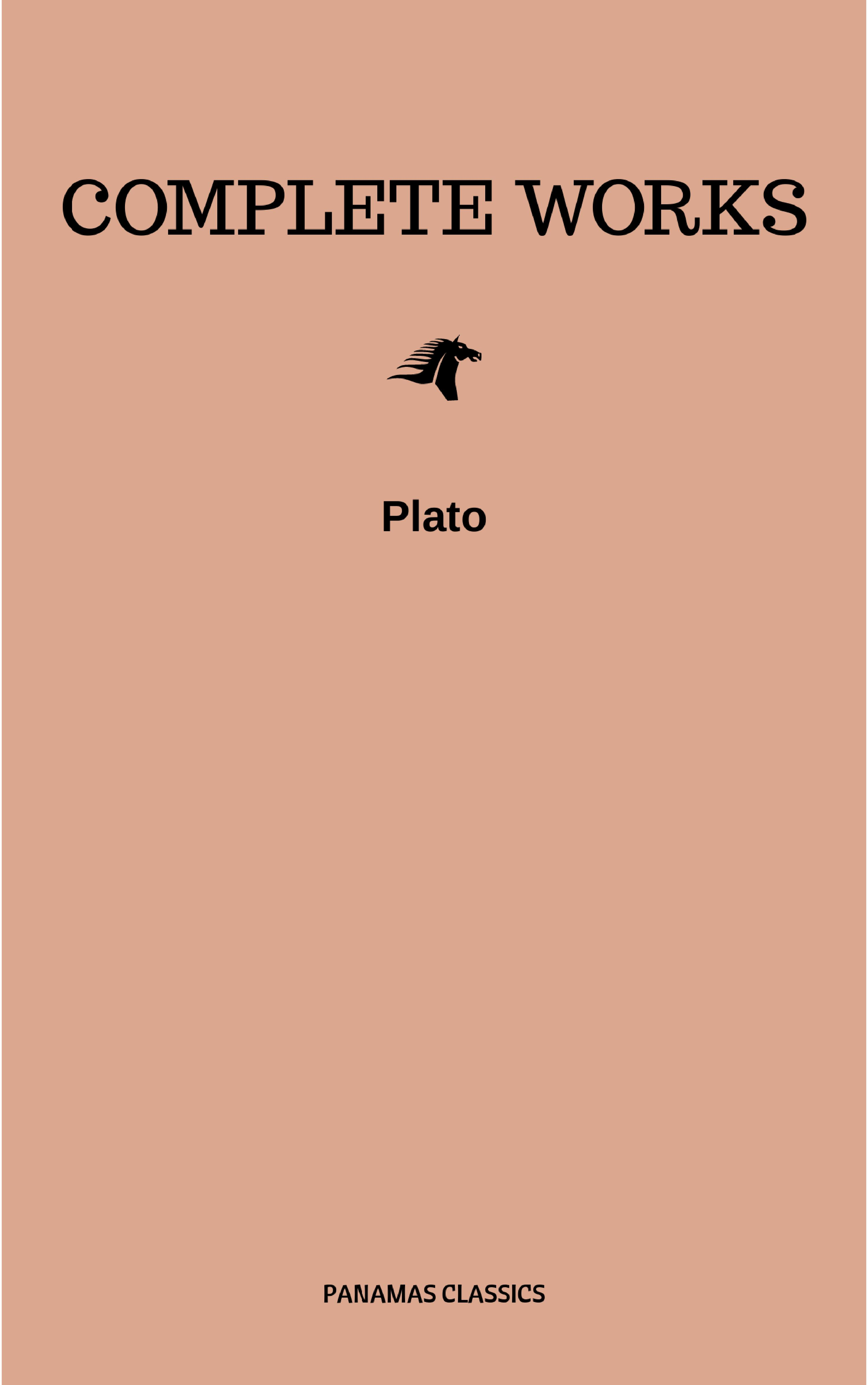 Plato Complete Works lamprecht barbara neutra complete works