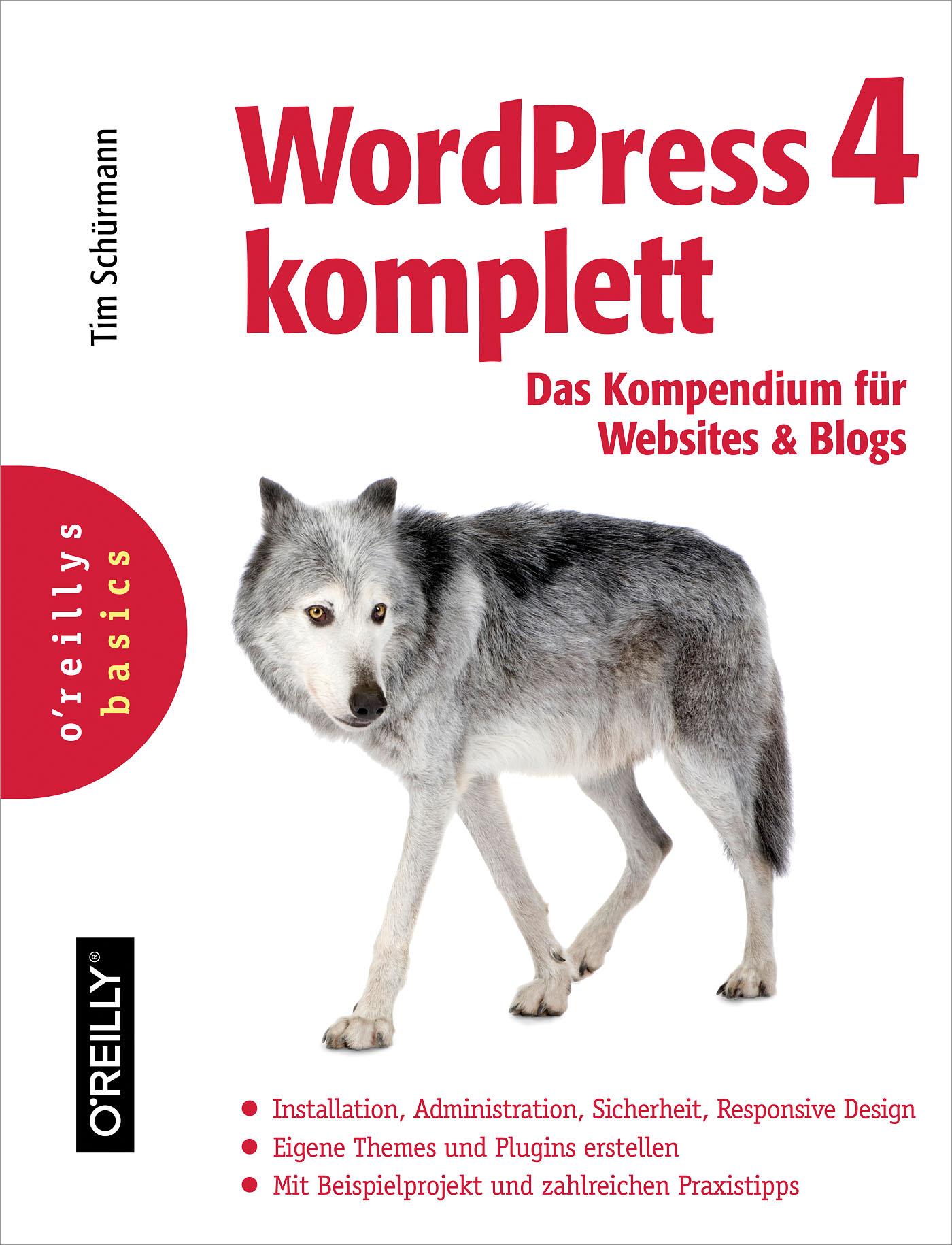 Tim Schurmann WordPress 4 komplett wpdx wordpress