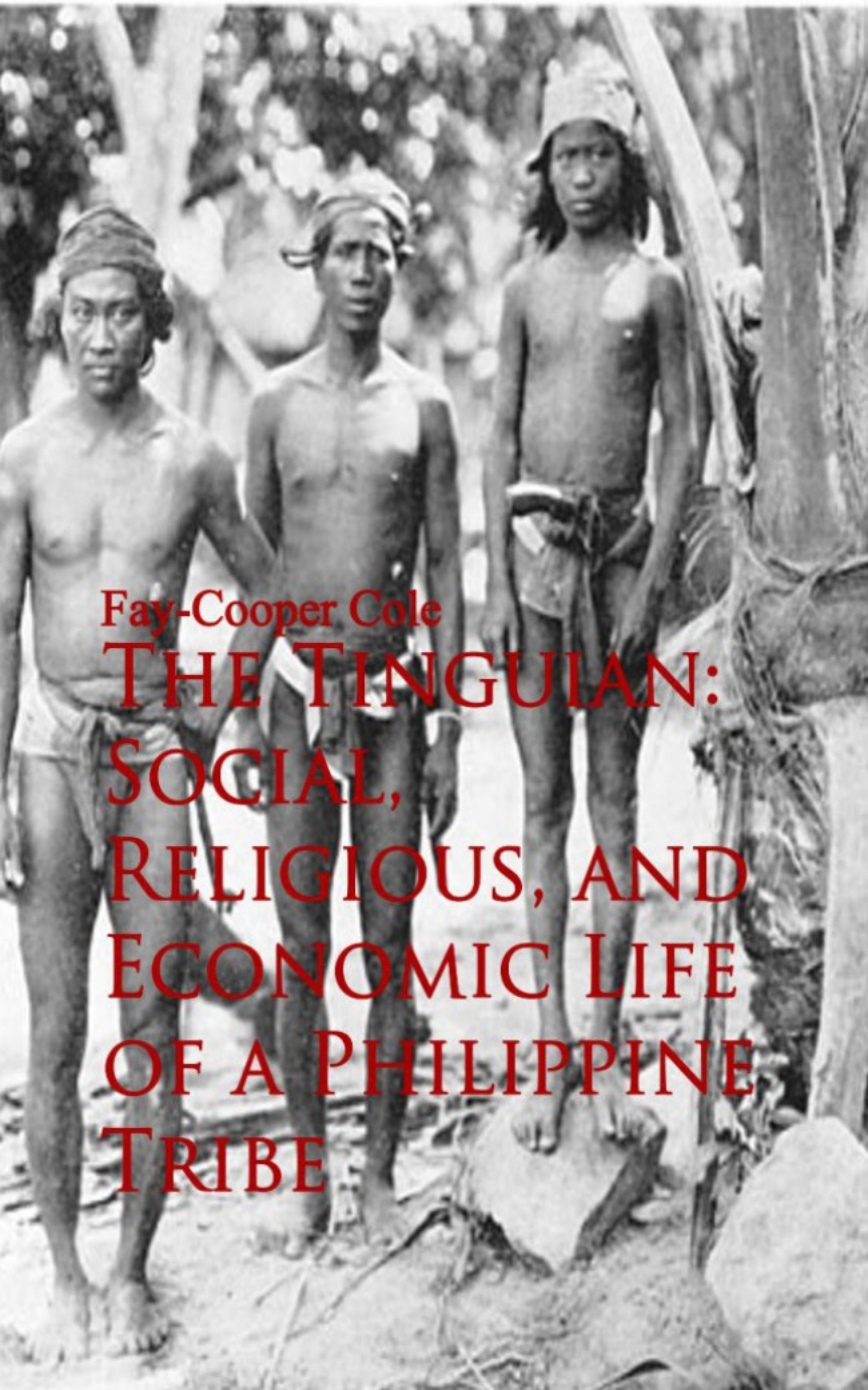 цена на Fay-Cooper Cole The Tinguian: Social, Religious, and Economic Life of a Philippine Tribe