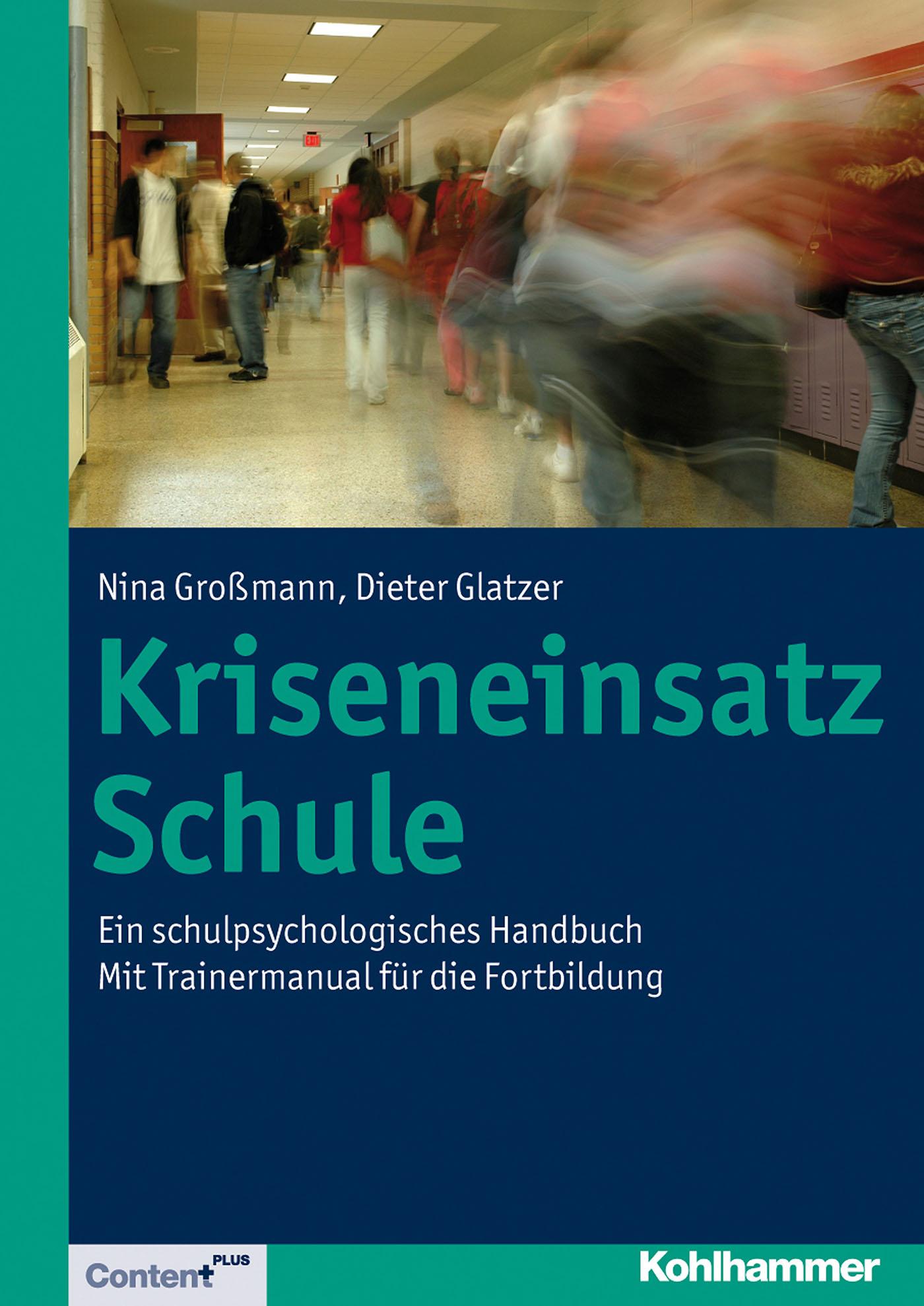 Dieter Glatzer Kriseneinsatz Schule