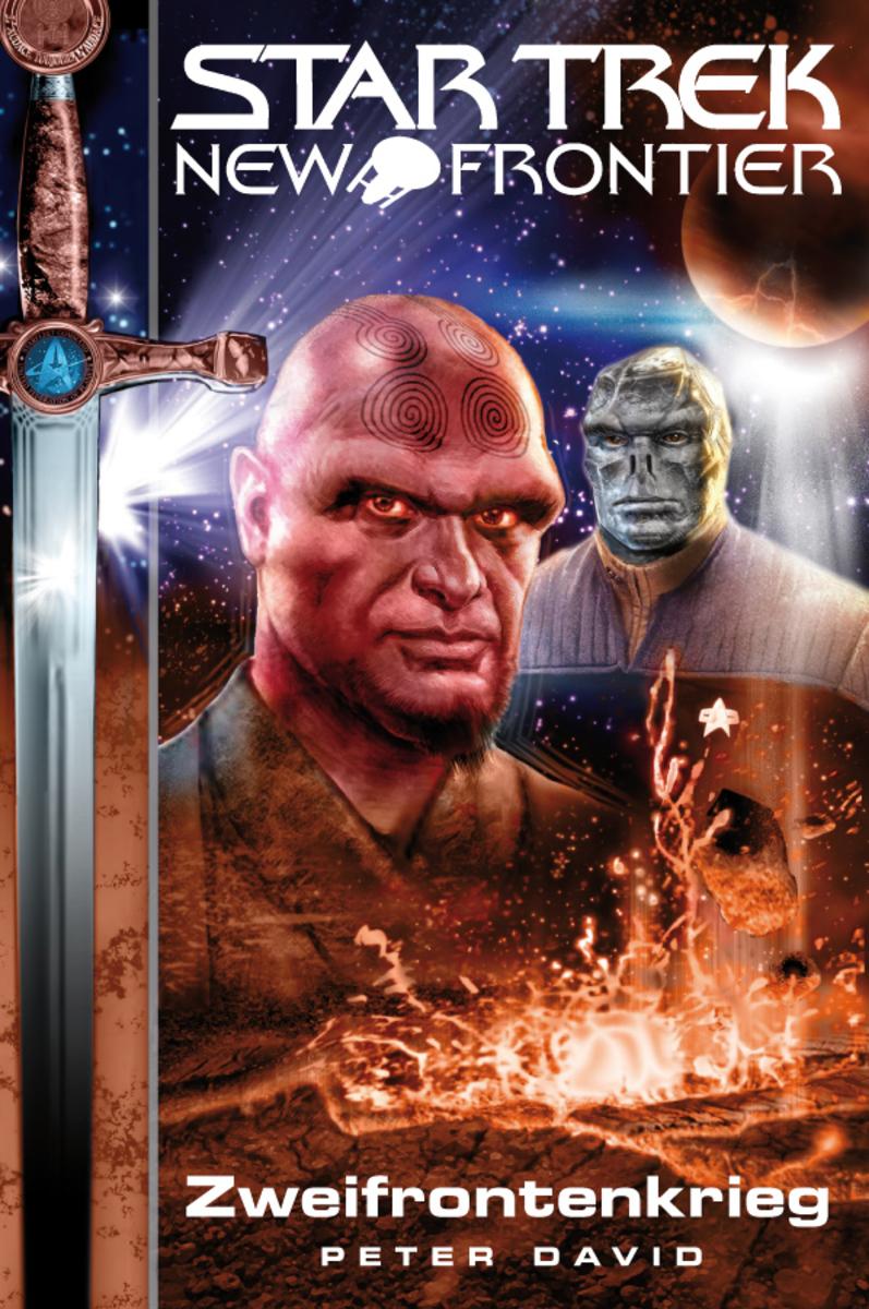 Peter David Star Trek - New Frontier 02: Zweifrontenkrieg david r iii george star trek typhon pact plagues of night