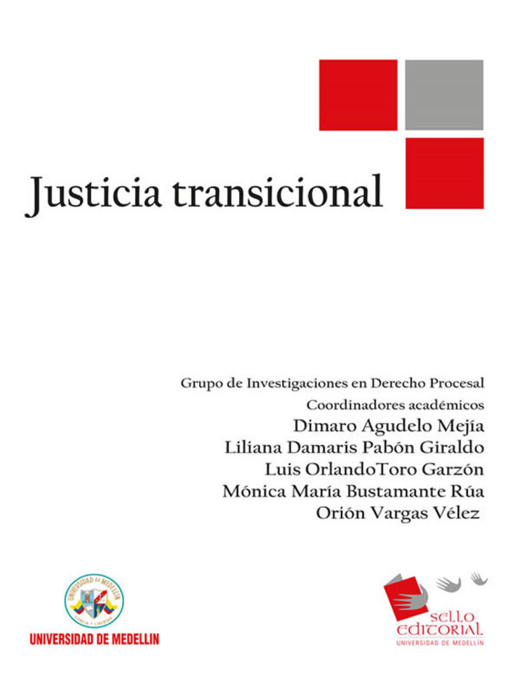 Jorge Alejandro Amaya Justicia Transicional