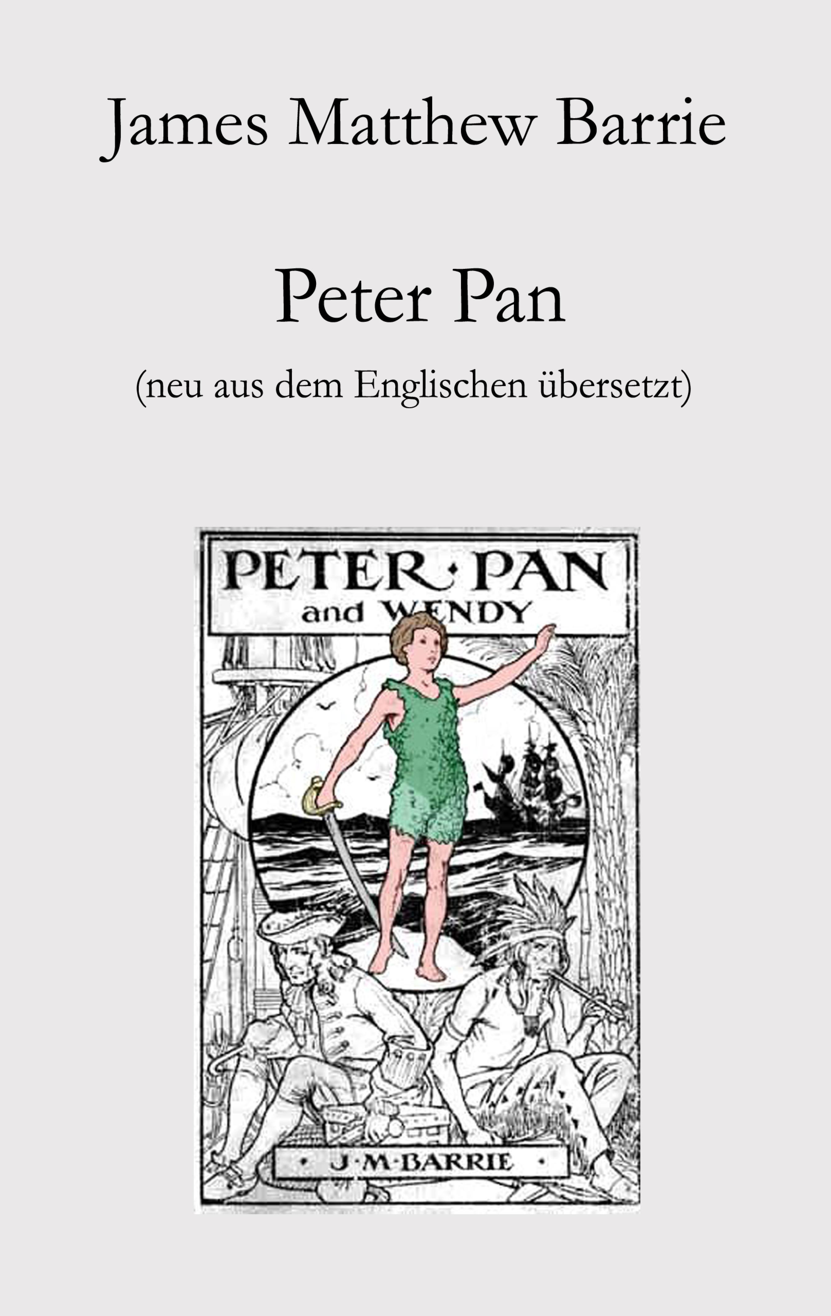 James Matthew Barrie Peter Pan