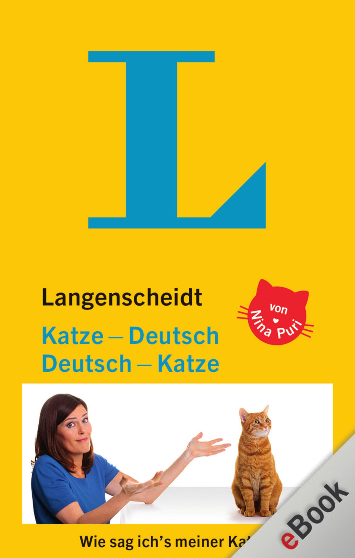 Nina Puri Langenscheidt Katze-Deutsch/Deutsch-Katze worterbuch deutsch esperanto