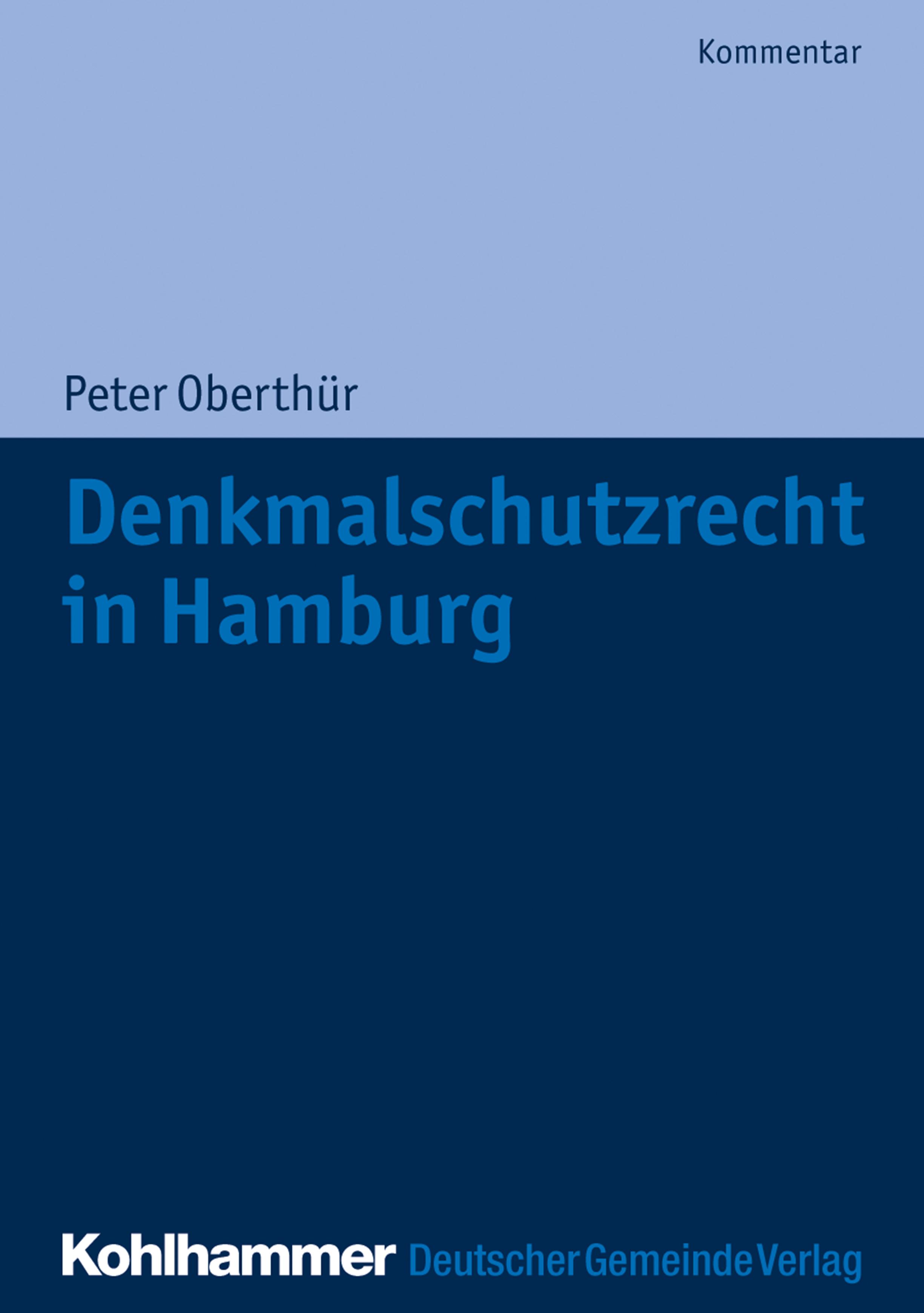 цена Peter Oberthür Denkmalschutzrecht in Hamburg онлайн в 2017 году