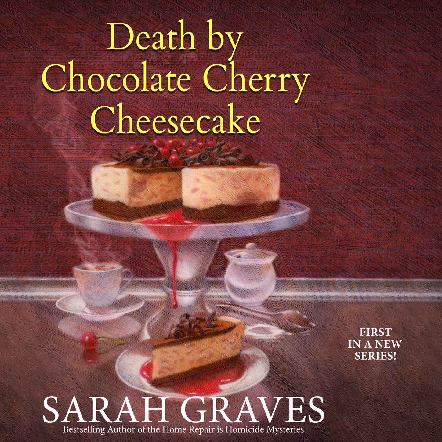 Sarah Graves Death by Chocolate Cherry Cheesecake - Death by Chocolate Mystery 1 (Unabridged) цена 2017