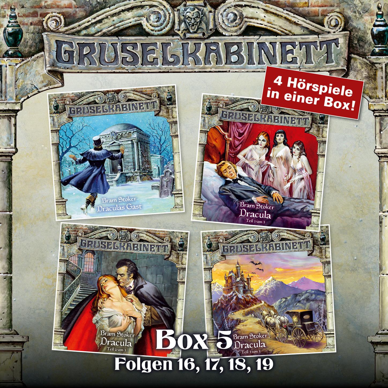Bram Stoker Gruselkabinett, Box 5: Folgen 16, 17, 18, 19 stoker bram drakula isbn 978 5 521 00197 2