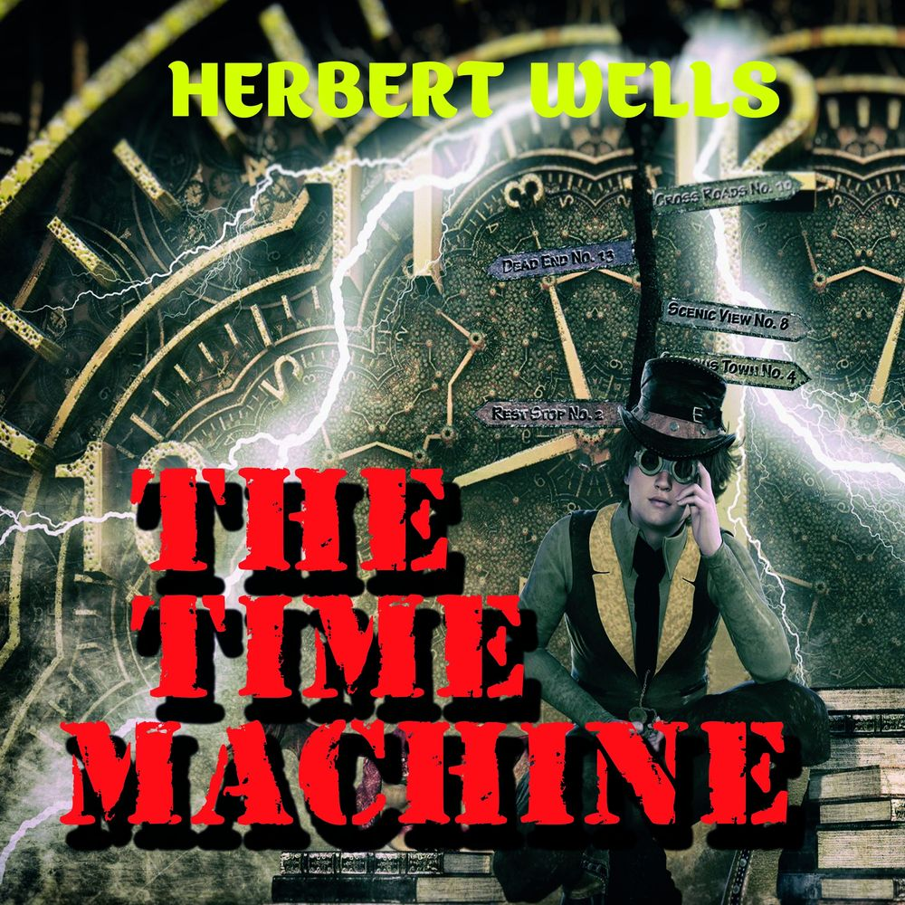 Герберт Уэллс The Time Machine the time travelling cat and the egyptian goddess