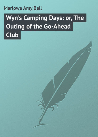 Marlowe Amy Bell Wyn's Camping Days: or, The Outing of the Go-Ahead Club the bell