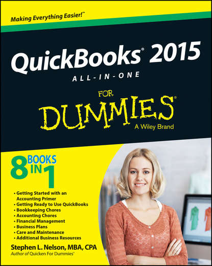 Stephen L. Nelson QuickBooks 2015 All-in-One For Dummies stephen l nelson quickbooks 2018 for dummies isbn 9781119397403