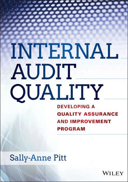 Sally-Anne Pitt Internal Audit Quality. Developing a Quality Assurance and Improvement Program insights into the effectiveness of internal audit
