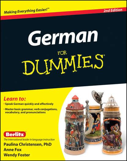 Anne Fox German For Dummies, Enhanced Edition недорого