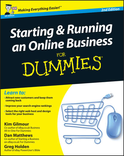 Greg Holden Starting and Running an Online Business For Dummies colin barrow starting and running a business all in one for dummies