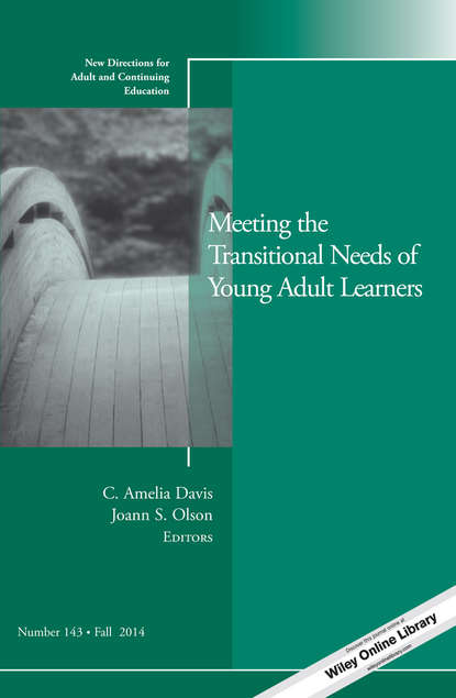 Olson Joann S. Meeting the Transitional Needs of Young Adult Learners. New Directions for Adult and Continuing Education, Number 143 linking adult education and formal schooling in tanzania