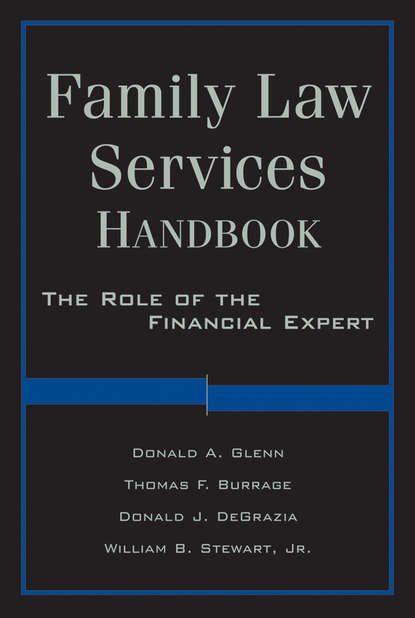 William Stewart Family Law Services Handbook. The Role of the Financial Expert reconciling family work the role of corporate citizenship