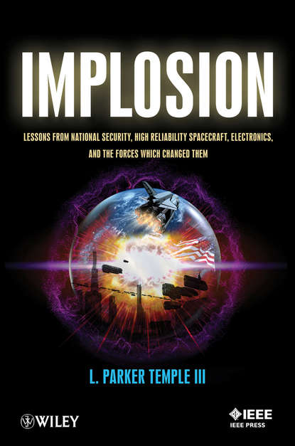 L. Parker Temple, III Implosion. Lessons from National Security, High Reliability Spacecraft, Electronics, and the Forces Which Changed Them quality and standards in electronics