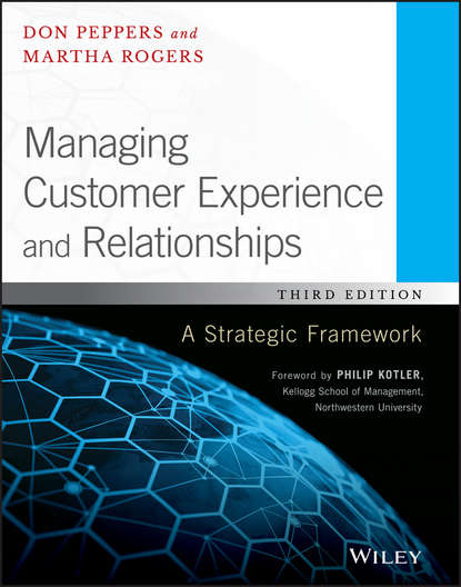 Philip Kotler Managing Customer Experience and Relationships. A Strategic Framework electronic customer relationship management