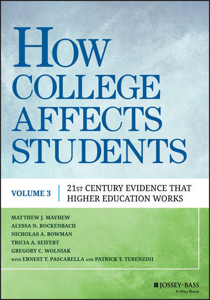 Nicholas Bowman A. How College Affects Students. 21st Century Evidence that Higher Education Works impact of caregiver education on stroke survivors and their caregivers