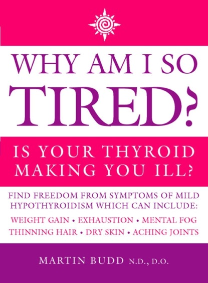 Martin Budd, N.D., D.O. Why Am I So Tired?: Is your thyroid making you ill? interferon alpha and ribavirin induced thyroid dysfunction