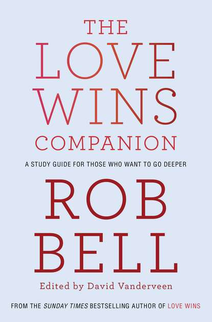 Rob Bell The Love Wins Companion: A Study Guide For Those Who Want to Go Deeper недорого