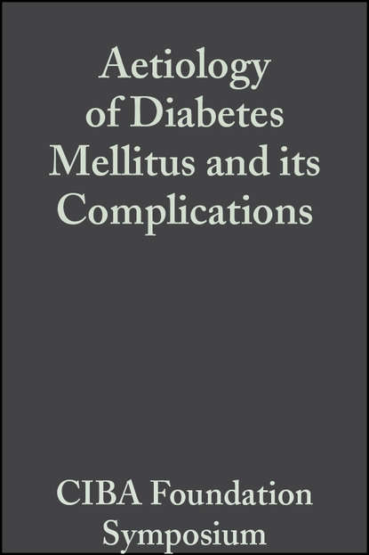 Фото - CIBA Foundation Symposium Aetiology of Diabetes Mellitus and its Complications, Volume 15 ciba foundation symposium cerebral vascular smooth muscle and its control