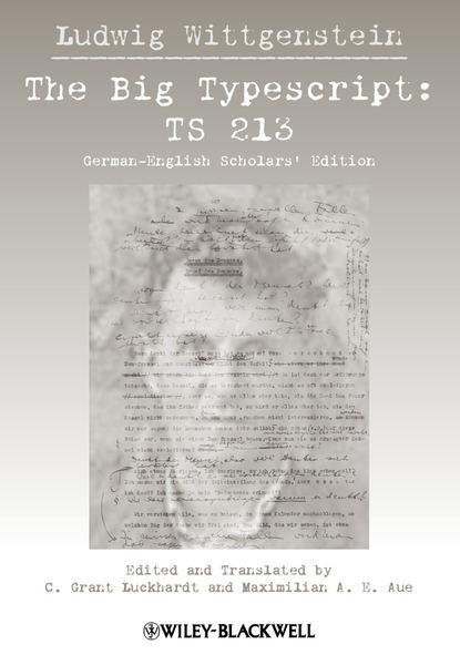 Ludwig Wittgenstein Big Typescript club tunes the big room edition