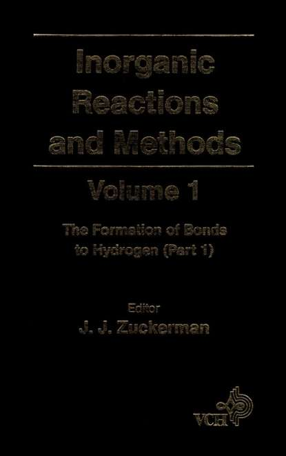 A. Hagen P. Inorganic Reactions and Methods, The Formation of Bonds to Hydrogen (Part 1) a norman d inorganic reactions and methods the formation of bonds to o s se te po part 2