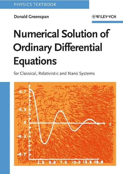 Donald Greenspan Numerical Solution of Ordinary Differential Equations numerical solution of electron number density