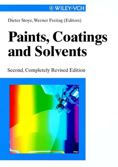 Werner Freitag Paints, Coatings and Solvents walter leitner green solvents supercritical solvents