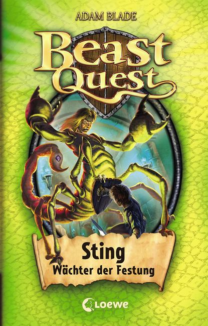 Adam Blade Beast Quest 18 – Sting, Wächter der Festung недорого
