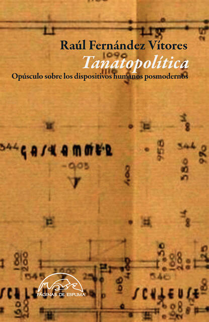 Raúl Fernández Vítores Tanatopolítica raúl eduardo chao contramaestre english version may 2014