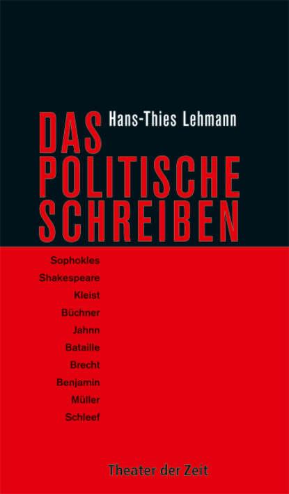 Фото - Hans-Thies Lehmann Das Politische Schreiben hans thies lehmann tragödie und dramatisches theater