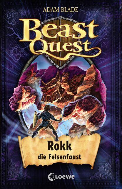 Adam Blade Beast Quest 27 - Rokk, die Felsenfaust недорого