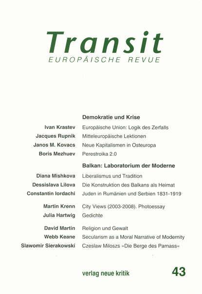 Иван Крастев Transit 43. Europäische Revue недорого