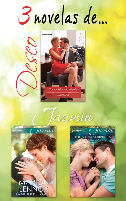 Varias Autoras Pack Deseo y Jazmín agosto 2016 varias autoras pack deseo y jazmín abril 2016
