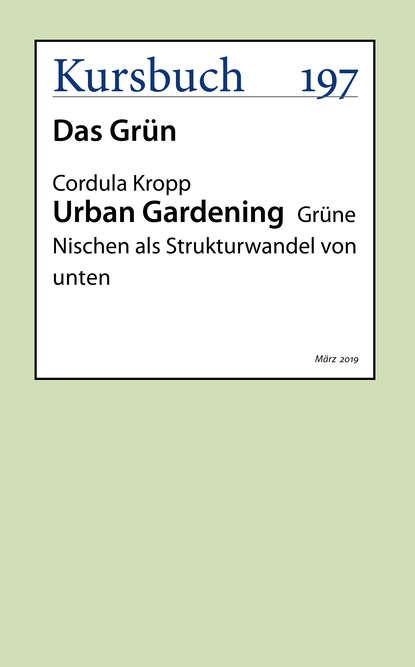 Фото - Prof. Dr. Cordula Kropp Urban Gardening prof dr jana rückert john gemeinsam einsam