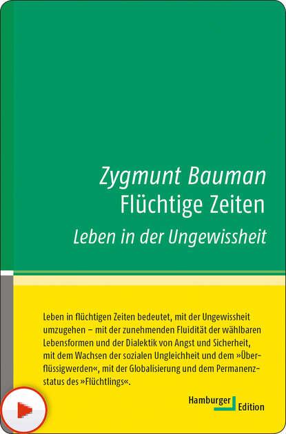 Zygmunt Bauman Flüchtige Zeiten zygmunt bauman 44 letters from the liquid modern world