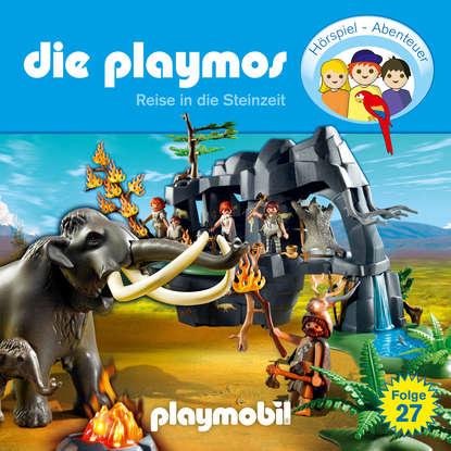 Simon X. Rost Die Playmos - Das Original Playmobil Hörspiel, Folge 27: Reise in die Steinzeit недорого