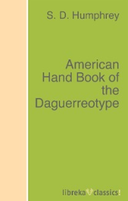 S. D. Humphrey American Hand Book of the Daguerreotype european and american style hand bones shaped zinc alloy ear studs antique silver