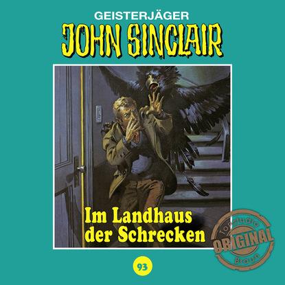 Jason Dark John Sinclair, Tonstudio Braun, Folge 93: Im Landhaus der Schrecken jason dark john sinclair tonstudio braun folge 23 der leichenbrunnen
