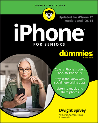 Dwight Spivey iPhone For Seniors For Dummies steve capellini massage for dummies
