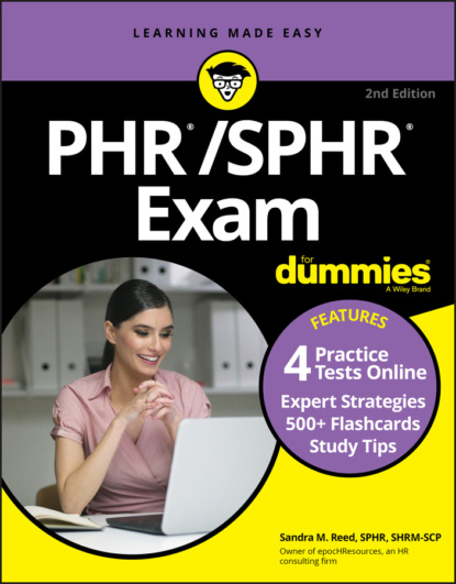 Sandra M. Reed PHR/SPHR Exam For Dummies with Online Practice angela papple johnston 2020 2021 asvab for dummies with online practice