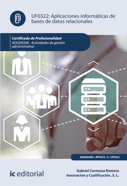 Gabriel Carmona Romera Aplicaciones informáticas de bases de datos relacionales. ADGD0308 marc romera el manual definitivo del ayuno intermitente