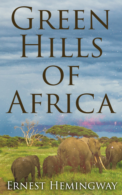 Ernest Hemingway Green Hills of Africa lake hills collection hssy156