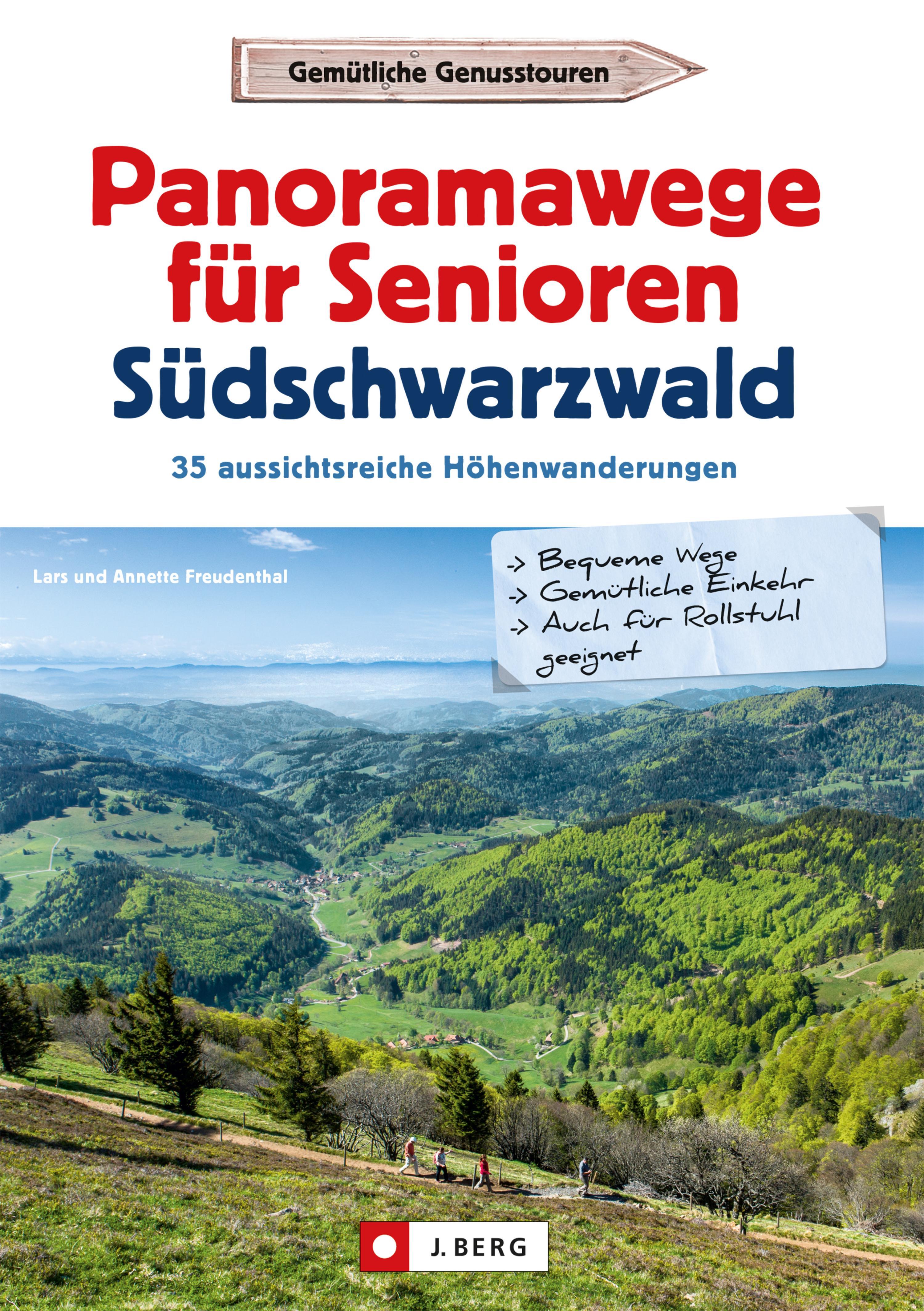 Panoramawege für Senioren Süd-Schwarzwald