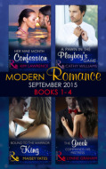 Modern Romance September 2015 Books 1-4