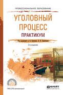 Уголовный процесс. Практикум 2-е изд., испр. и доп. Учебное пособие для СПО